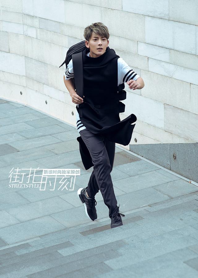 街拍时刻 陈翔型男变身颠覆演绎时髦奥运风