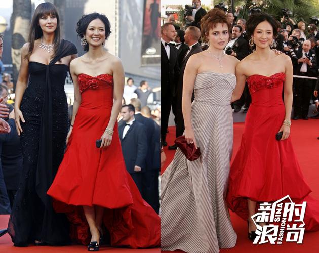 2006年第63届戛纳电影节开幕式-章子怡