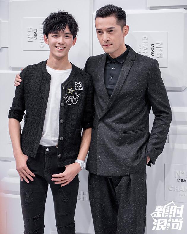 吴磊和胡歌