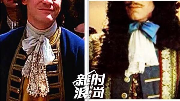 """影视作品中的""""绅士领巾"""""""
