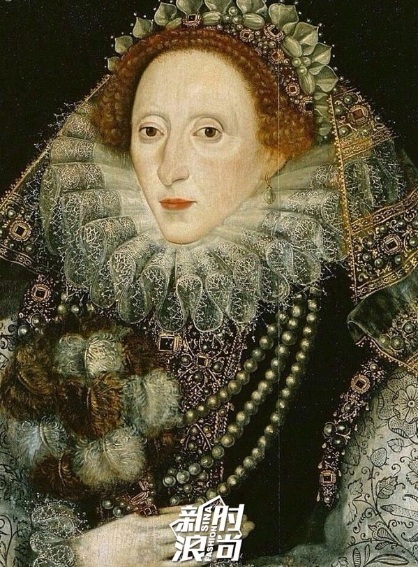伊丽莎白一世与轮状皱领