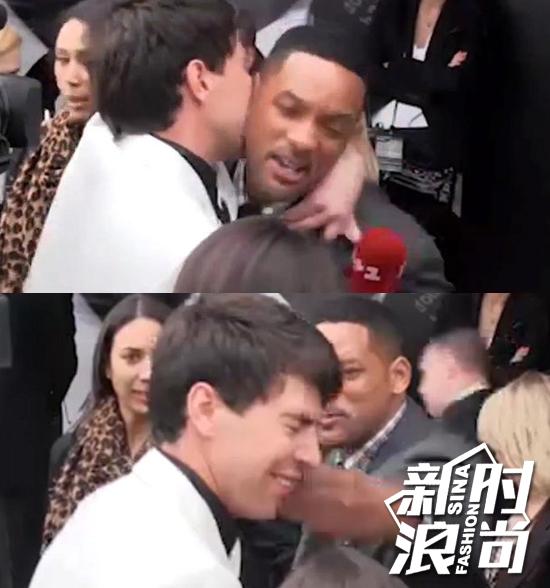 他曾强吻威尔史密斯(Will Smith),结果反被打了一巴掌
