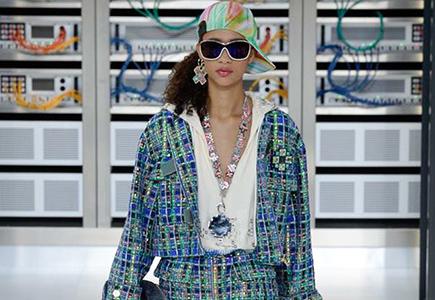 Chanel 2017春夏女装LOOK18