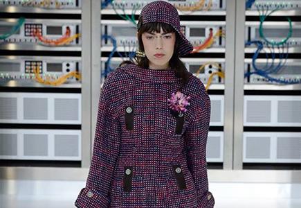 Chanel 2017春夏女装LOOK15