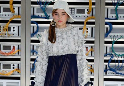 Chanel 2017春夏女装LOOK22