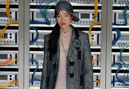Chanel 2017春夏女装LOOK21