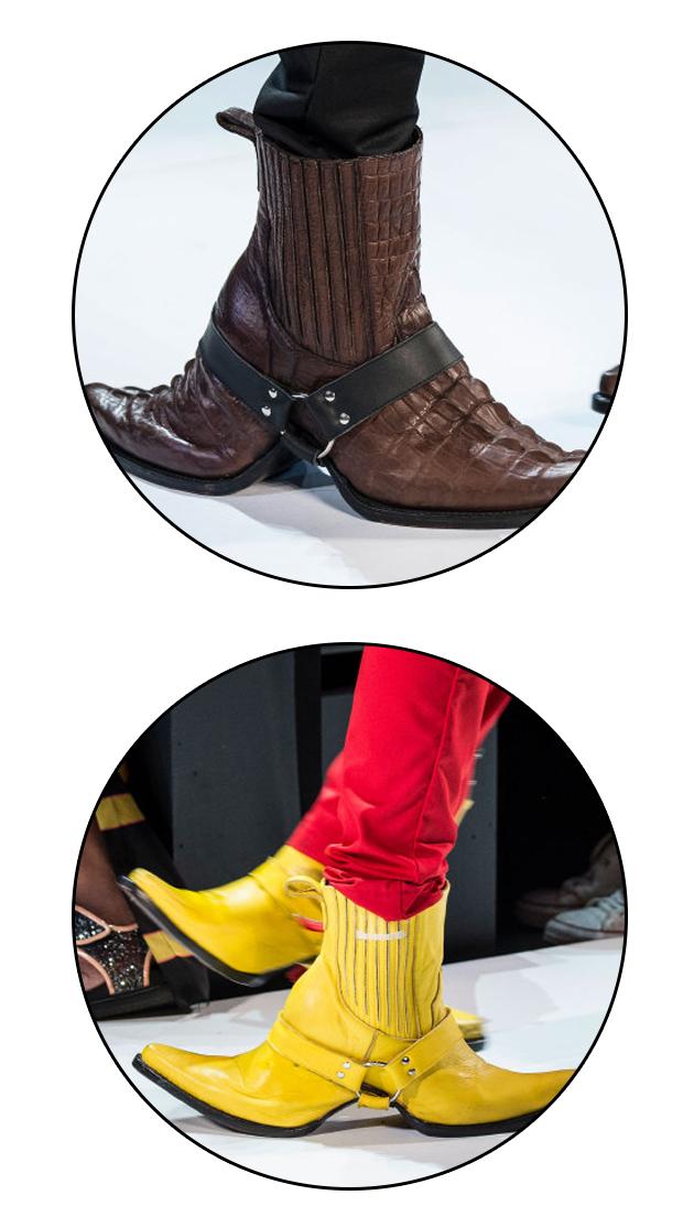 Hood-By-Air双头鞋