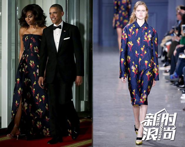 米歇尔今年在白宫招待到访的加拿大总统时,也穿了Jason Wu亮相,看来关系果然不一般