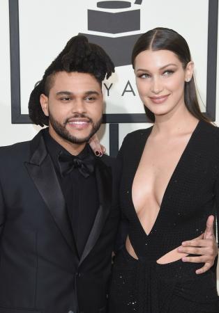 Bella Hadid与男友The Weeknd