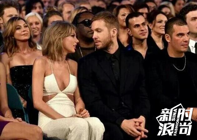 Calvin Harris与Taylor Swift