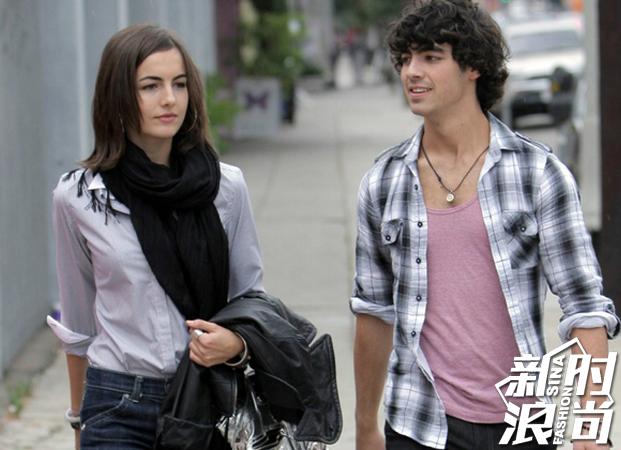 Joe Jonas与Camilla Belle