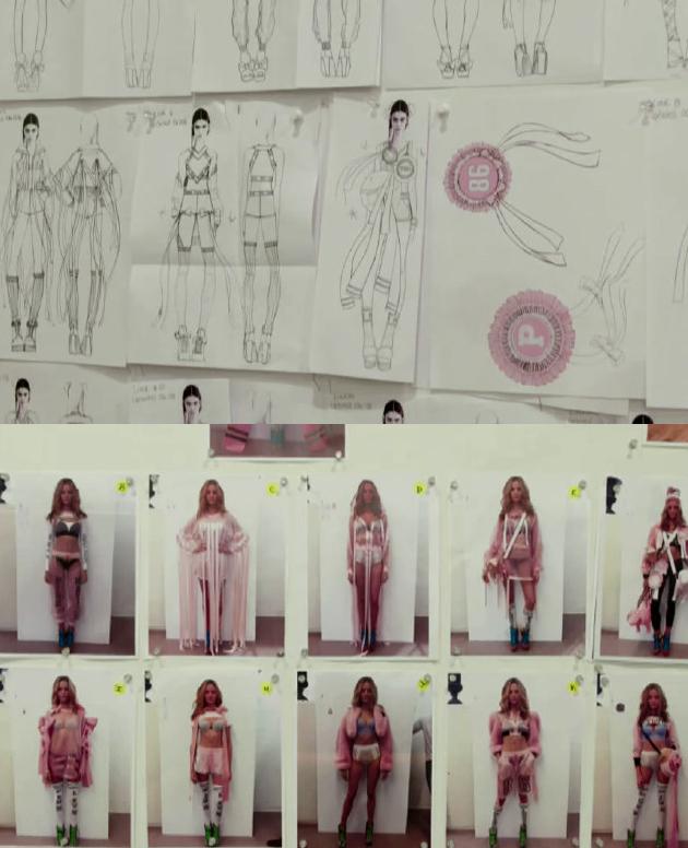 pink系列草图