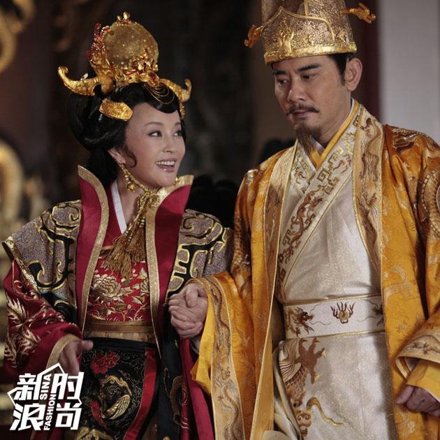 2011年电视剧《武则天秘史》剧照