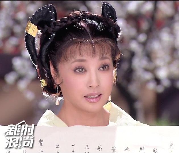 2006年《日月凌空》中饰演武则天