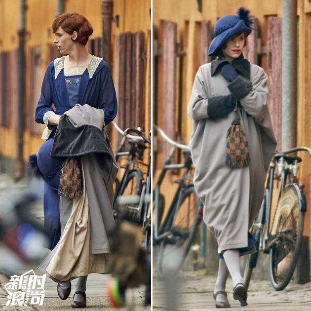 埃迪-雷德梅尼的复古女装造型