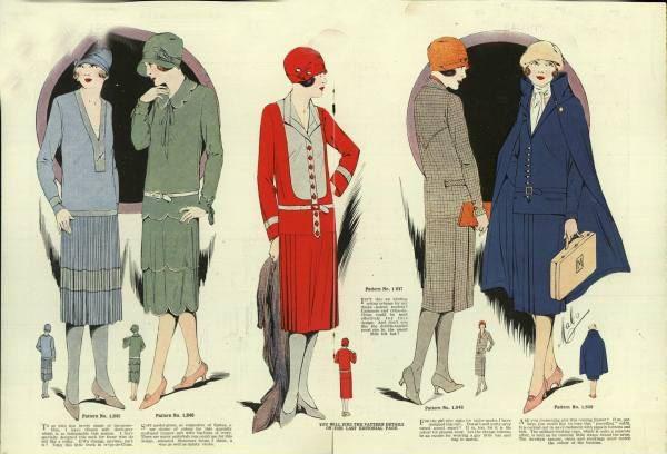 上世纪20年代的着装风格