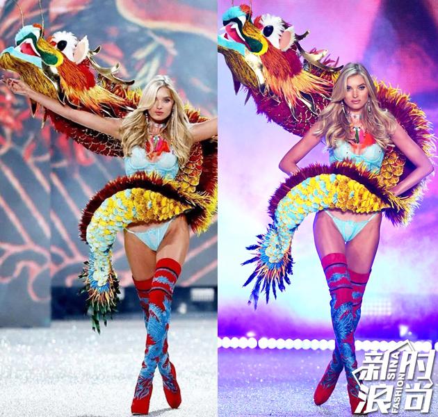 今年维秘的中国风