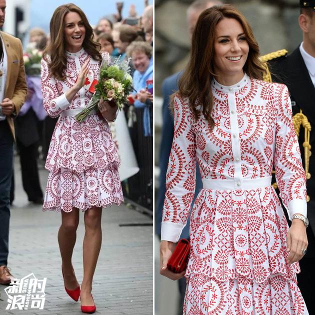 凯特王妃穿类似款美翻