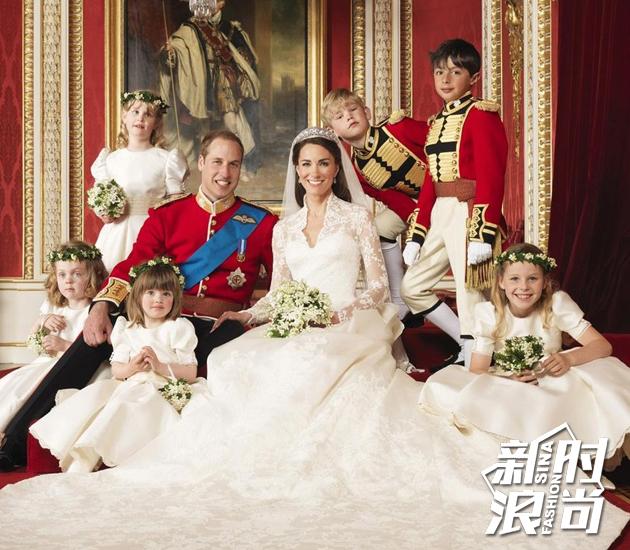 威廉王子和凯特王妃婚礼