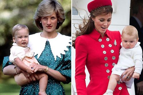 戴安娜王妃与凯特王妃