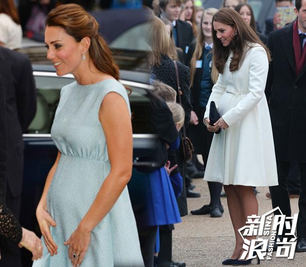 凯特王妃怀孕时期造型