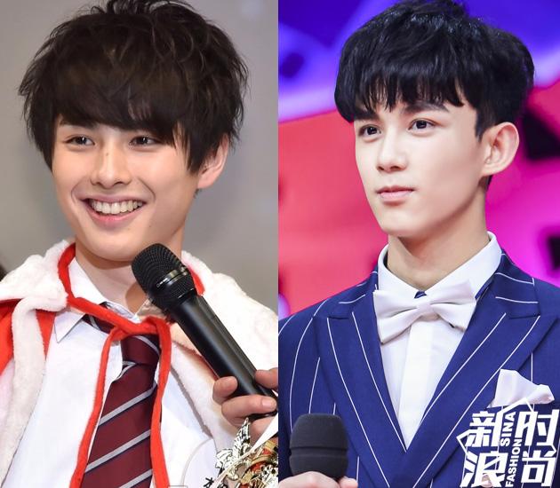 日本最帅中学生神似吴磊
