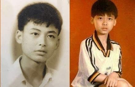 李易峰与爸爸年轻时的对比照
