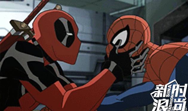 【#蜘蛛侠#-和#死侍#-搞在了一起】