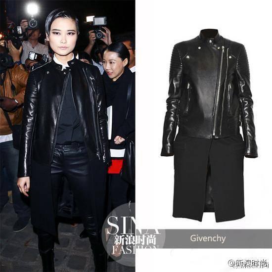 李宇春首次亮相时装周就是因为Givenchy