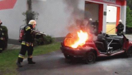 你想想中的消防队员应该是什么样子