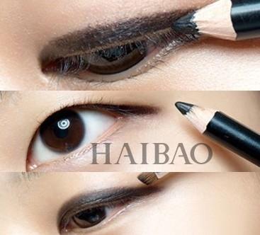 自然眼线画法