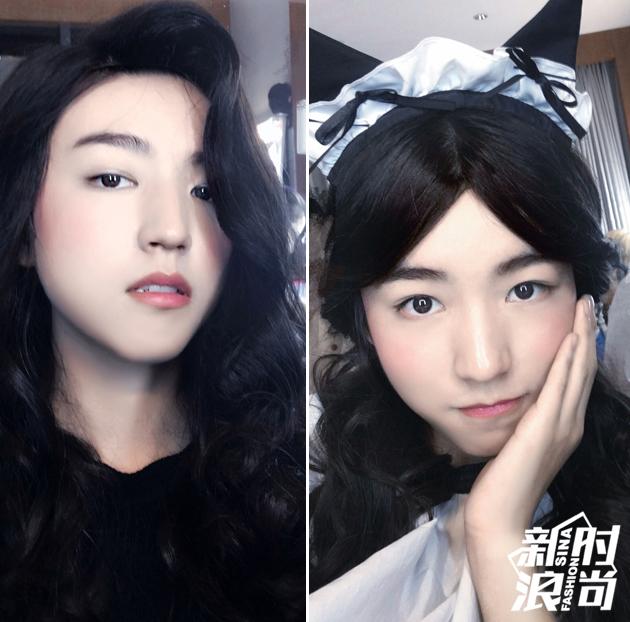 王俊凯变身小公主