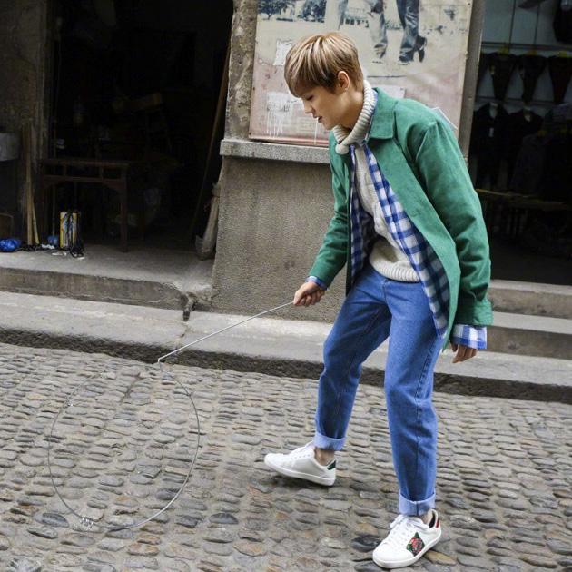 格子衫和牛仔裤一样都不能少