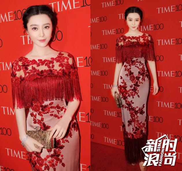 冰冰作为入选《TIME》全球影响力百人榜的唯一亚洲女演员