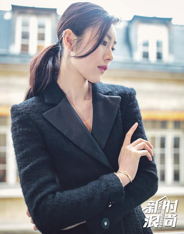 刘雯看秀造型