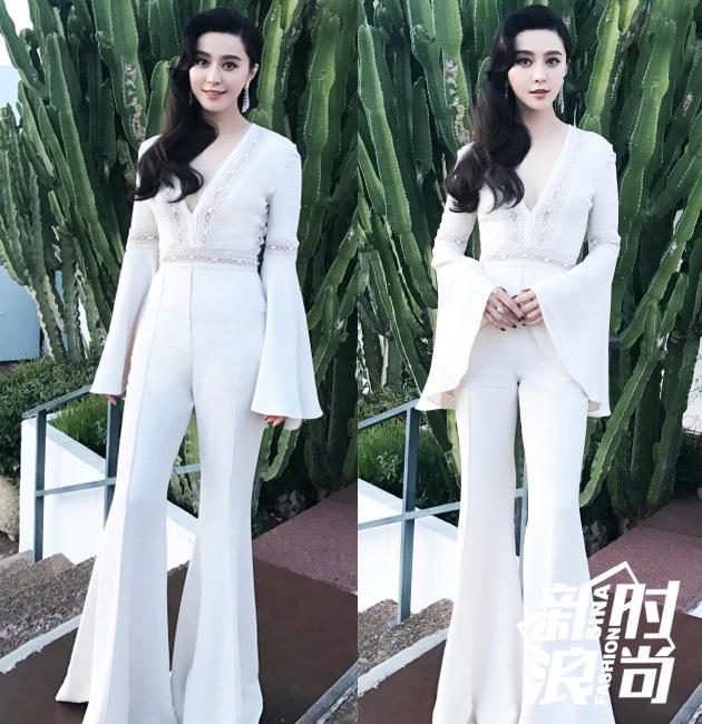戛纳电影节的华人红毯系列 范爷11套造型收官春春贡献T台首秀 服饰潮流 图18