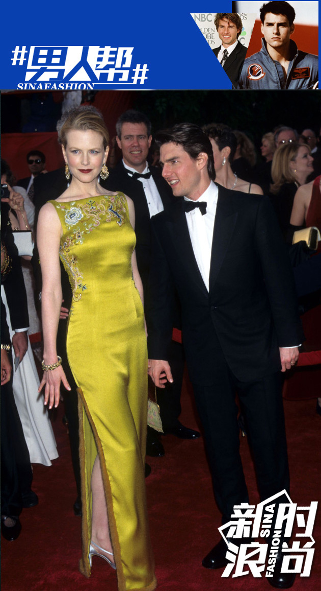 1997年奥斯卡与第二任妻子nikeji