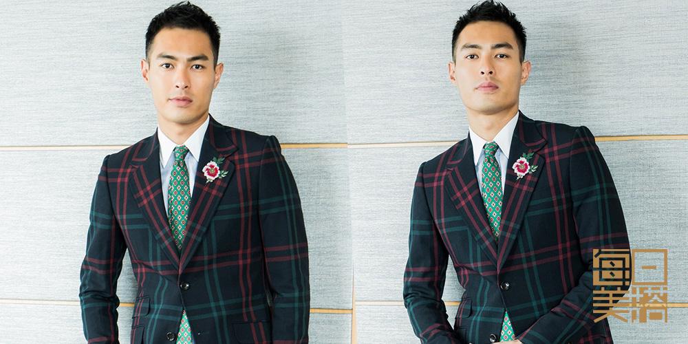 每日美搭 杨祐宁西装上身显绅士魅力