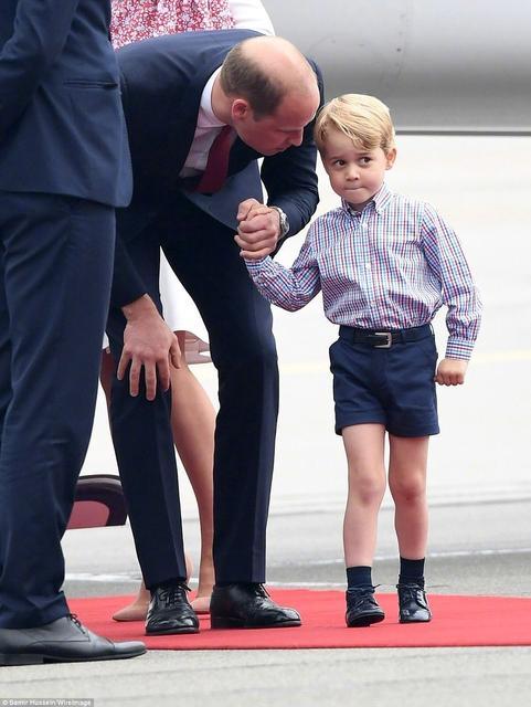 乔治小王子抢镜