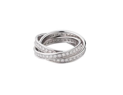 卡地亚Trinity de Cartier戒指