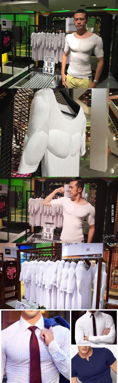男人开始用胸贴了
