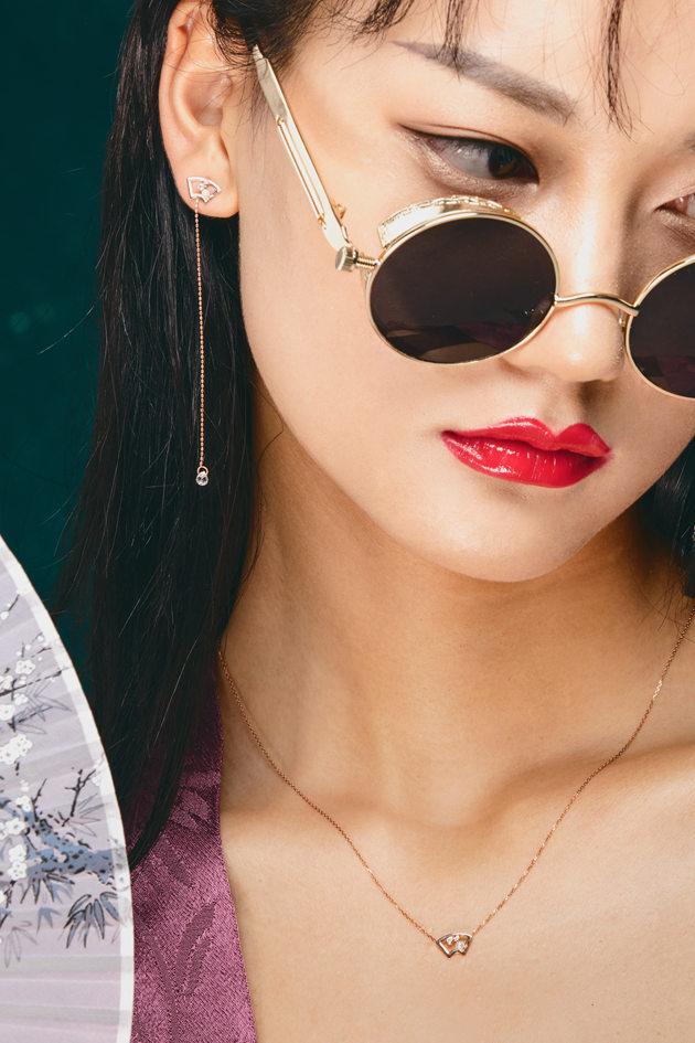 """颐和园和PLAY-LOSOPHY异构珠宝联名发布""""小窗晨露""""系列皇家珠宝"""