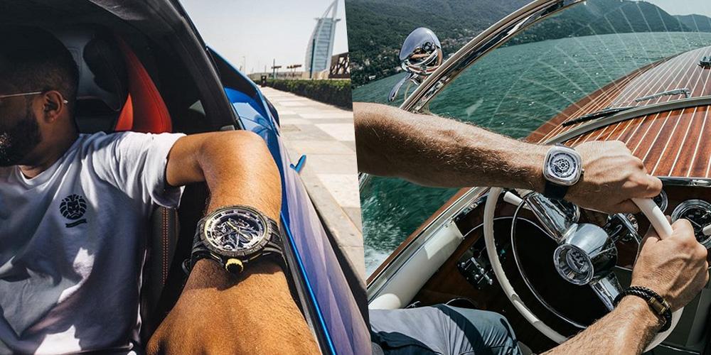 黄金周的N种休闲方式 贴身腕表必不可少