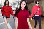 红色在时尚圈刮起旋风