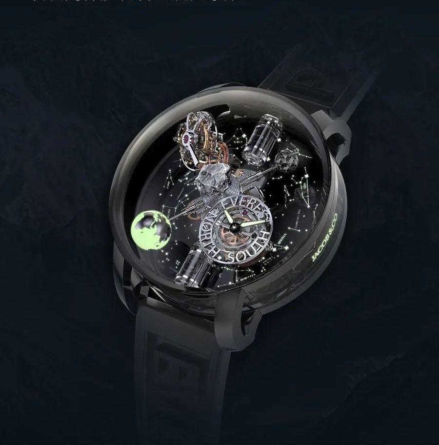 杰克宝与Johan Ernst Nilson联合打造珠峰腕表