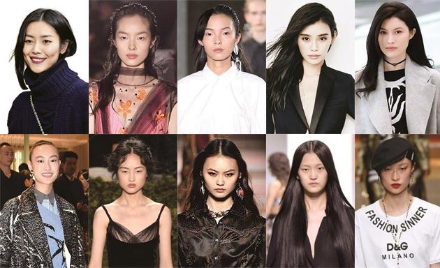 福布斯中国超模Top10