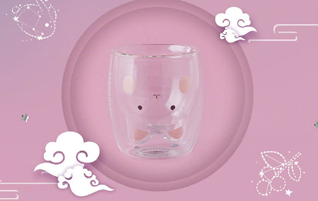 星巴克兔杯
