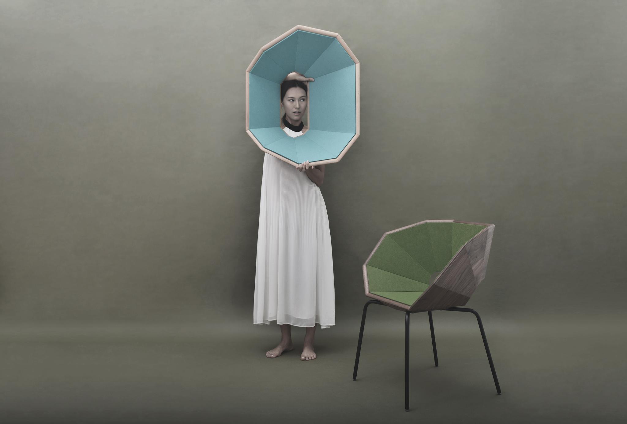杨明洁设计作品:羊舍榫卯的重构扶手椅 2017年