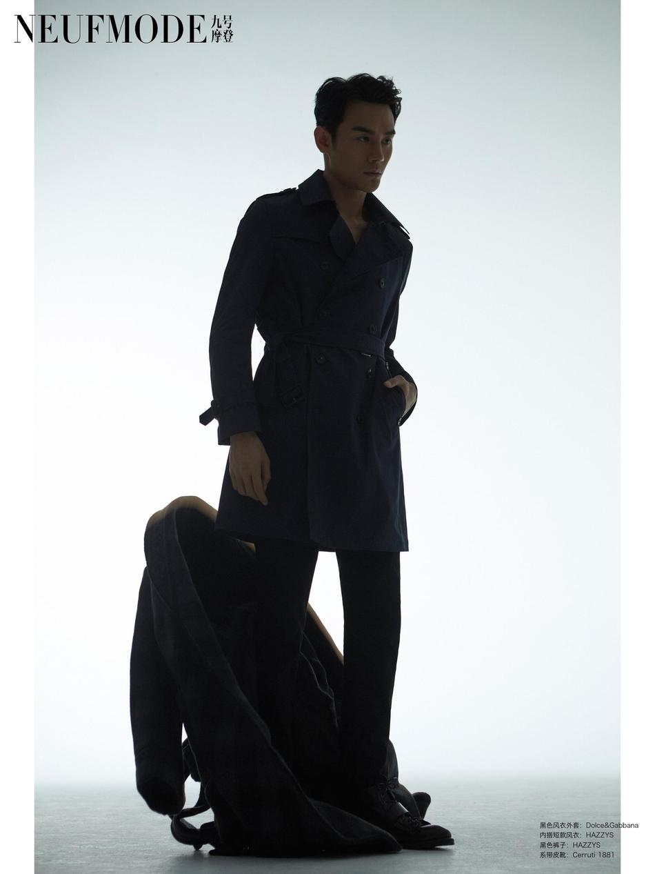 王凯登《九号摩登》封面 光影间显温润绅士气场