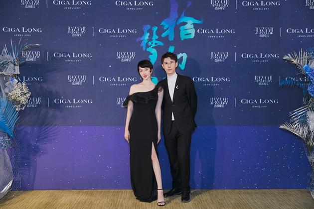左起:演员_陈小纭、Ciga Long品牌创始人兼珠宝设计师_龙梓嘉